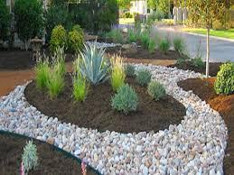 Backyard Landscaping Ideas With Rocks by River Rock Garden Ideas Video And Photos Madlonsbigbear Com