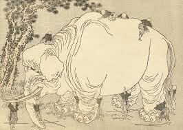 Blind Men And The Elephant Poem The Pachyderm In The Room U2013 Kuniyoshi U0027s Elephant Toshidama