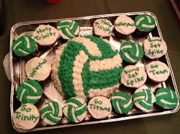 10 best volleyball cupcakes images on pinterest volleyball