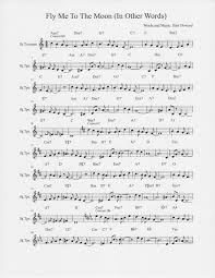 fly me to the moon two page melody for trumpet view topic