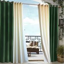 Where To Buy Outdoor Curtains Elrene Highland Stripe Indoor Outdoor Curtain Panel By Elrene
