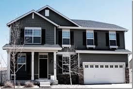 exterior of homes designs grey siding dark doors and exterior