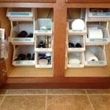 Under Kitchen Sink Storage Ideas Stylish Storage 10 Ways To Organize Under Your Sink Apartment