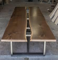 Live Edge Boardroom Table Slab Walnut Live Edge Conference Table Greg Pilotti Furniture Makers