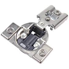 kitchen cabinet door hinges at lowe s richelieu 10 pack 1 2 in nickel plated self closing soft concealed cabinet hinge