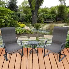 Sling Outdoor Chairs Sling Patio Furniture Outdoor Patio Furniture Clearanced Patio