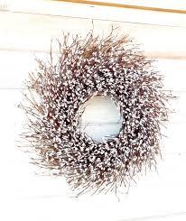 twig home decor winter wreath winter home decor christmas wreath farmhouse