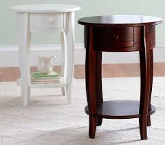 pottery barn bedside table traditional bedside table solid wood round outdoor sleigh