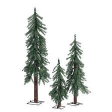 sterling 2 ft 3 ft and 4 ft unlit alpine artificial