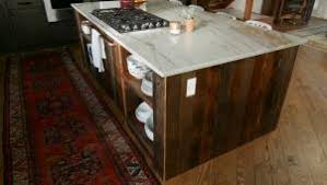 how to build a barnwood kitchen island diy