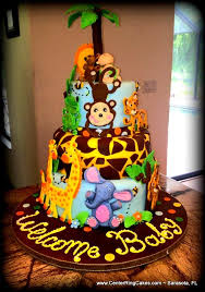 jungle baby shower cakes southern blue celebrations jungle safari and zoo cake ideas