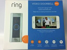 new ring video doorbell pro wi fi enabled smart phone hd security