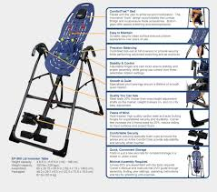 inversion bed teeter hang ups ep 560 inversion table