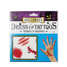 halloween body stickers compare prices on temporary tattoos injury online shopping buy