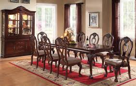 Formal Dining Room Tables Von Furniture Versailles Large Formal Dining Room Set In Cherry