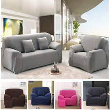 Easy Stretch Sofa Covers Fitted Sofa Slipcover Ebay