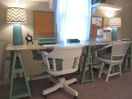 Ana White Sawhorse Desk Ana White Double Saw Horse Workstation Diy Projects