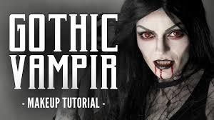 gothic vampir make up halloween schminkanleitung youtube