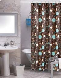 stylish shower curtains to go with brown walls best curtains 2017