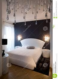 chambre a coucher noir et blanc blanc noir de chambre à coucher image stock image du disposition