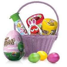easter egg hunt baskets m m s easter milk chocolate candy in twist n pour
