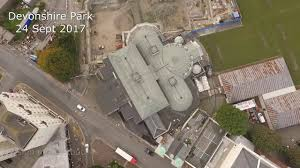 devonshire park eastbourne drone fly over u0026 around youtube
