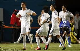 cristiano ronaldo aims defiant celebration at jose mourinho as