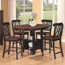 classy french country bistro design with 5 pieces two tone pub