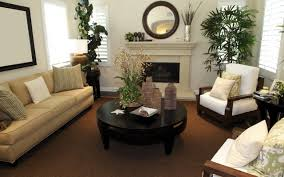 blue and brown living room waplag inspiration decoration classic