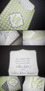 letterpress invitation smock