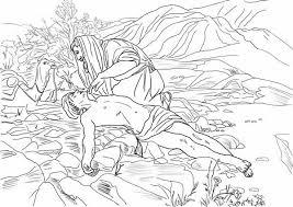 good samaritan rescue a half dead traveller coloring page netart