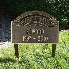 dog grave markers the rainbow bridge pet memorial markers pet grave markers pet