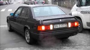maserati 2001 maserati biturbo 4 24v youtube