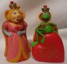 miss piggy u0026 kermit frog wedding cake topper muppet top heart
