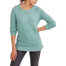 faded s crew neck sweater walmart