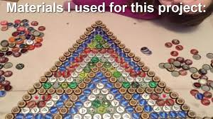 how to create a superbe design with bottle cap floor tile youtube