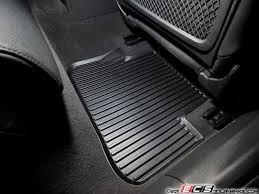 genuine audi a4 car mats genuine volkswagen audi 8k0061511041 rear all weather rubber