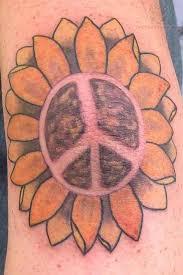 peace sun flower