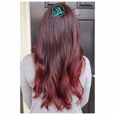 dark maroon ombre greenville hair salon balayage in greenville