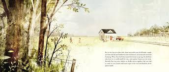 house held up by trees ted kooser jon klassen 9780763651077