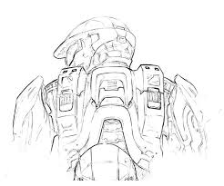 halo coloring pages home u003e halo 4 u003e halo 4 trooper actions