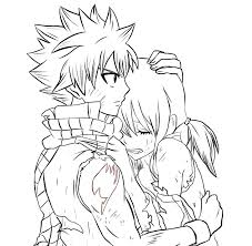 natsuxlucy fairy tail movie lineart by animanga artist99 on deviantart