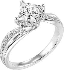 carved engagement rings carved stella diamond engagement ring ac 31 v304