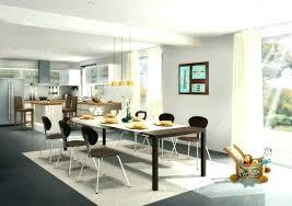 aménagement salon salle à manger cuisine deco salon cagne chic amenagement interieur salon salle a manger
