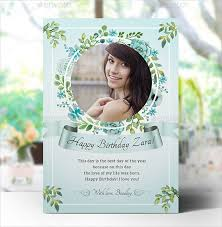 26 printable birthday cards free psd ai vector eps format