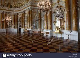 poland warsaw royal castle interior stock photo royalty free