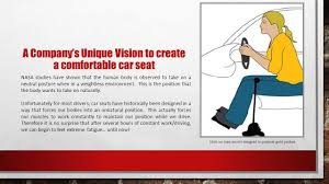 Most Comfortable Car To Drive Human Posture And Car Seat Design A Drivers Guide To Avoiding Back