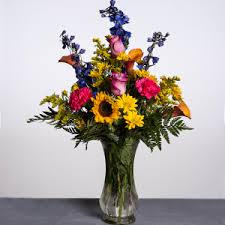 How To Arrange Flowers In A Tall Vase Send Flowers To Akron City Hospital