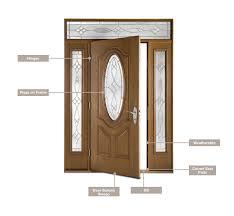 Parts Of An Exterior Door Therma Tru Common Replacement Parts For Doors Grand Banks