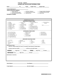 school incident report template school discipline report template fill printable